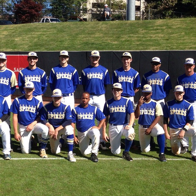 2015 Golden Spikes Team photo at N C State today !