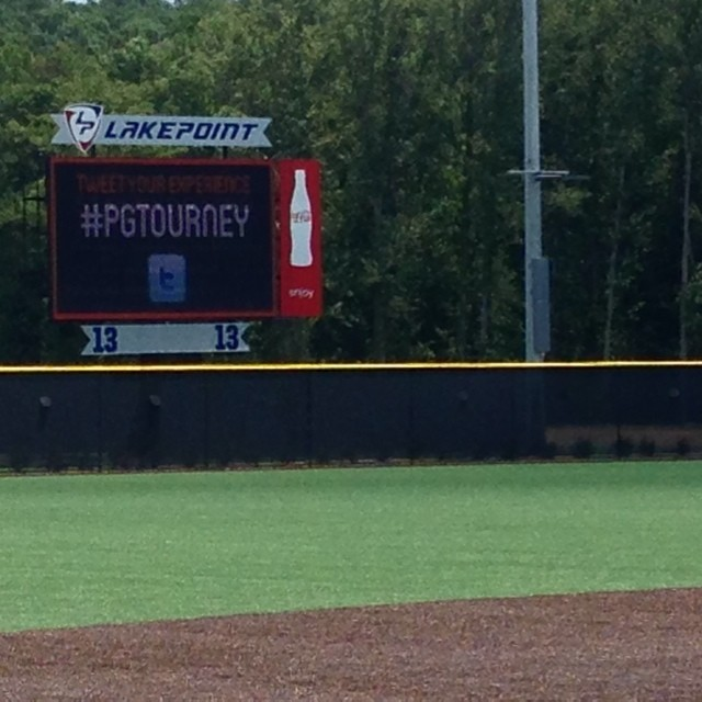 Perfect Games new facility at Lake Point is sweet! All turf fields. #perfectgameworldwoodbat