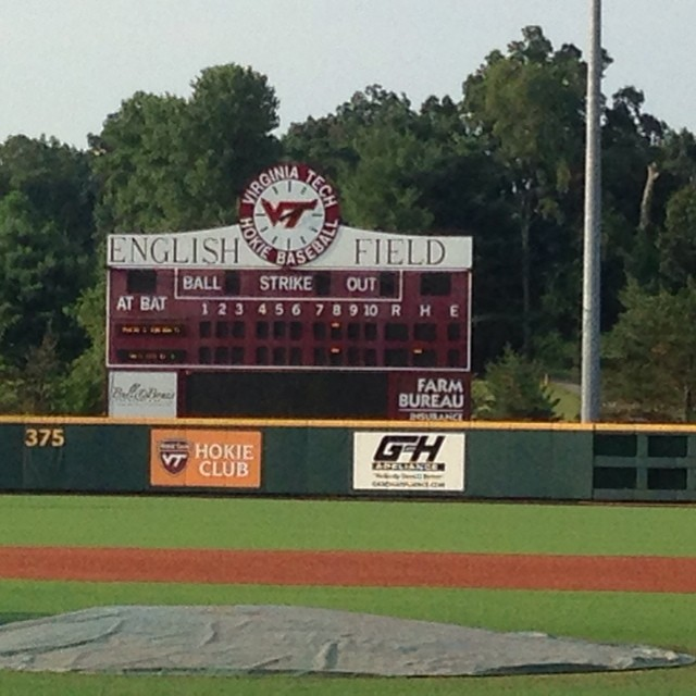 Golden Spikes 2015 playing all weekend at Va Tech! Go Spikes!!